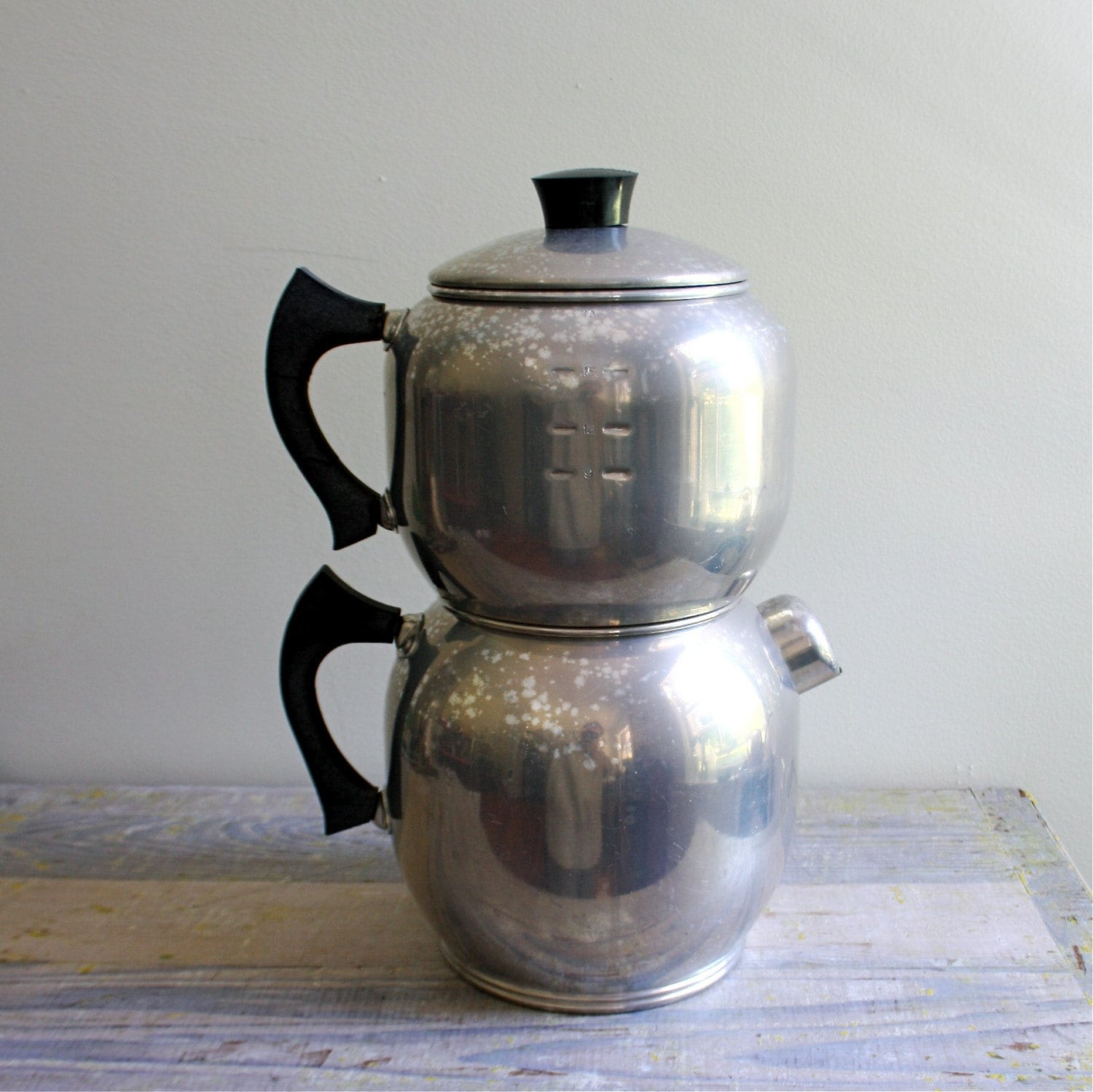 Coffee Pot Planter Vintage West Bend Coffee Percolator By Ethanollie On Etsy