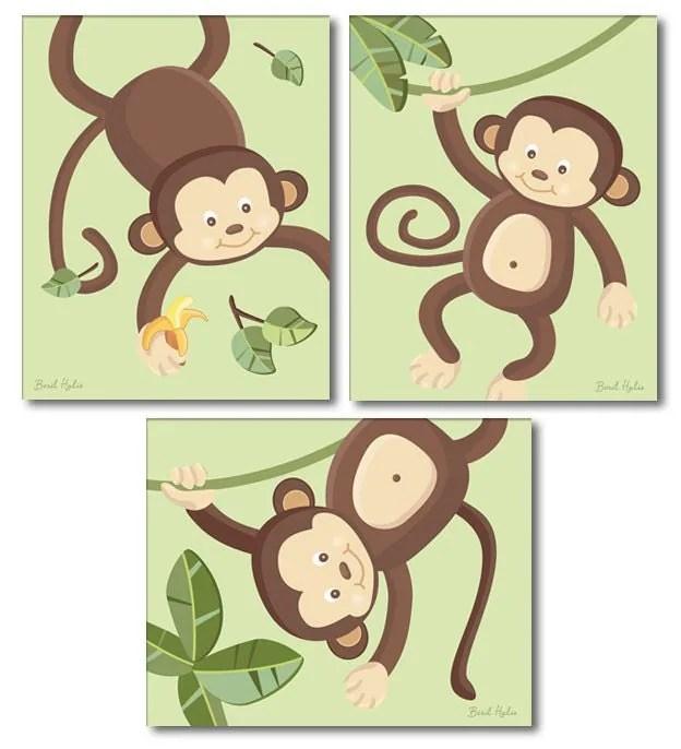 Monkey Wall Art - Elitflat
