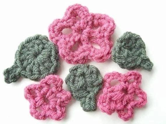 Crochet Flower Pattern 5 Petal Traitoro For