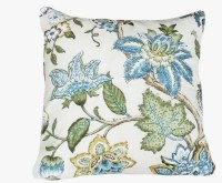 Blue Floral Pillows Decorative Throw Pillow by ...