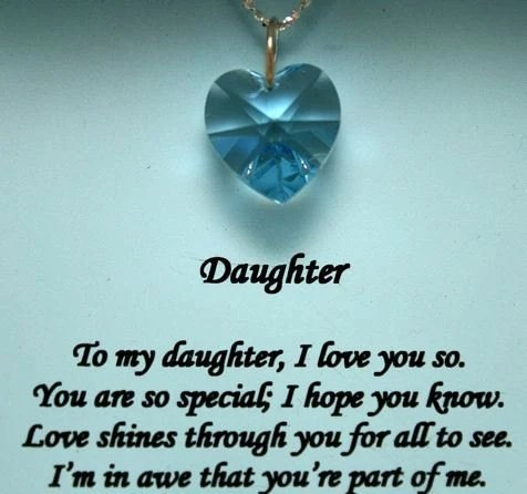How To Stop Your Best Friend From Controlling Your Life 9 A Special Message To My Daughter Aqua Swarovski Crystal