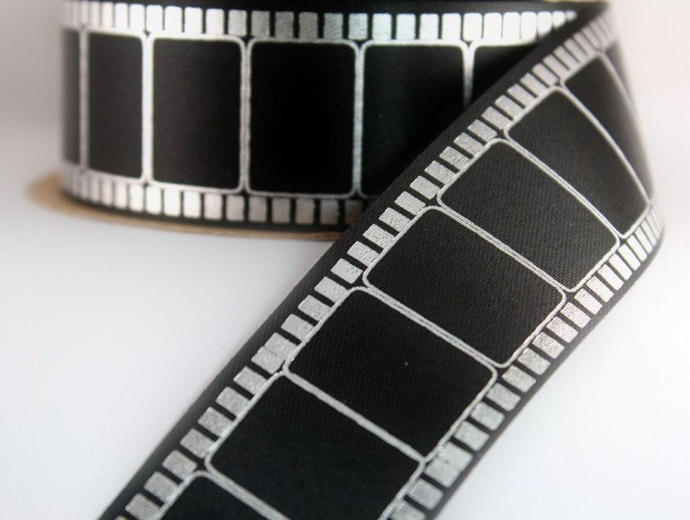 Cute Ribbons Wallpaper 5 Yards Novelty Movie Reel Ribbon 1 5 16inch Width