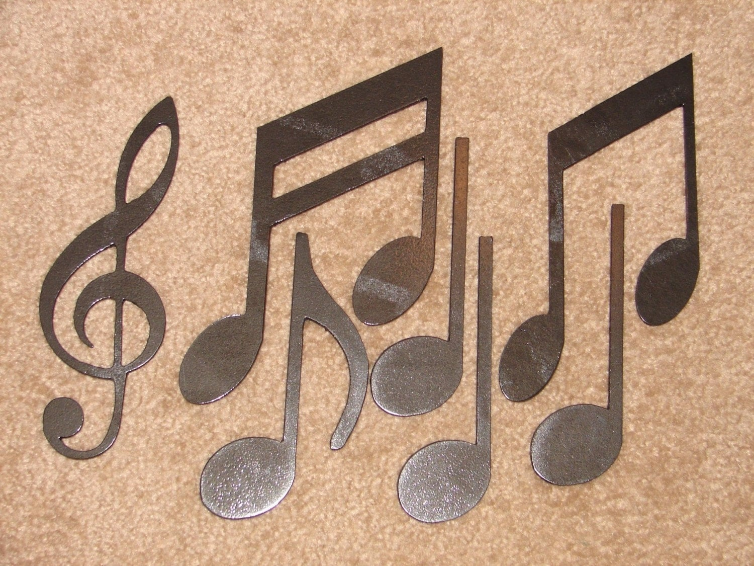 Metal Music Wall Art Metal Wall Art Decor Music Notes Musical Note Patio