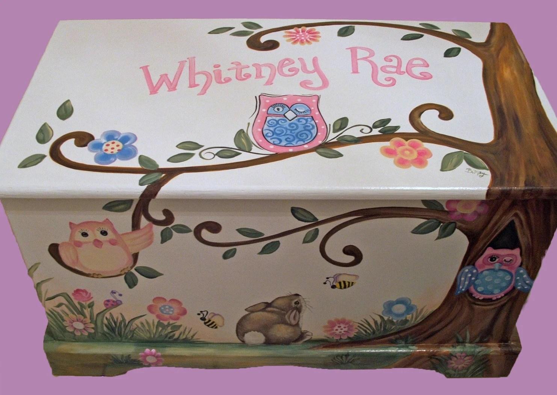 Owls ... & Owl Storage Trunk - Listitdallas
