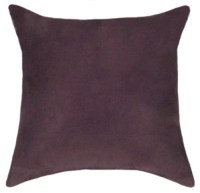 Items similar to Suede Throw Pillow - Plum Faux Suede ...