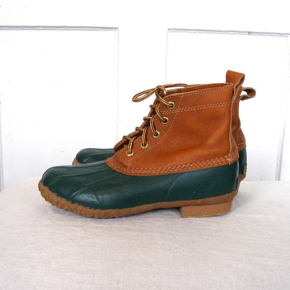 Ankle High Duck Boots By Eddie Bauer Women39s 7