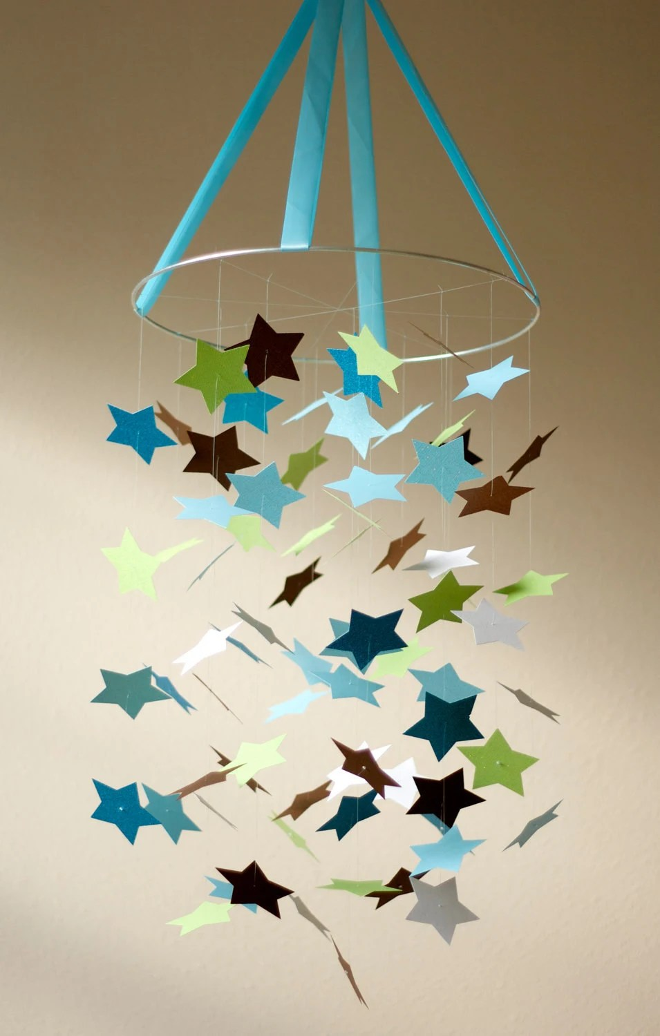 Idee Objet Noel Fabriquer Baby Boy Star Mobile Kit-diy-great Craft By Littledreamersinc
