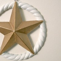 nautical star wall decor by monkeyandsquirrel on Etsy
