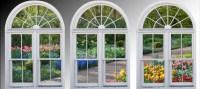 Wall mural windows self adhesive Dutch Garden Holland