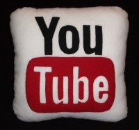 YouTube Pillow