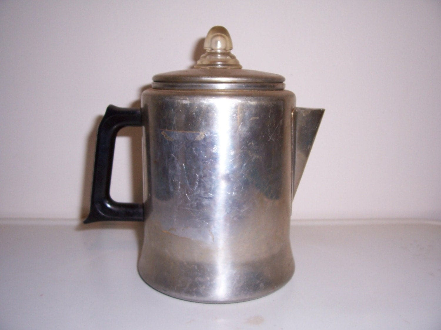Coffee Pot Planter Vintage Aluminum Coffee Pot Percolator By Nimblesnook On Etsy