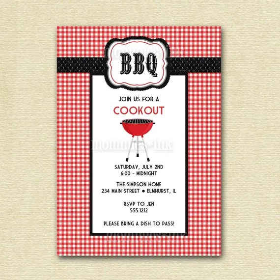 image relating to Free Printable Cookout Invitations identify No cost Printable Cookout Invites - Anarchistshemale