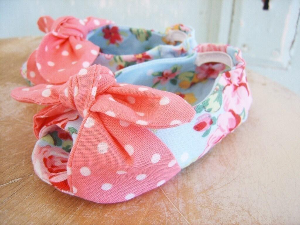 Free Fabric Baby Shoe Pattern