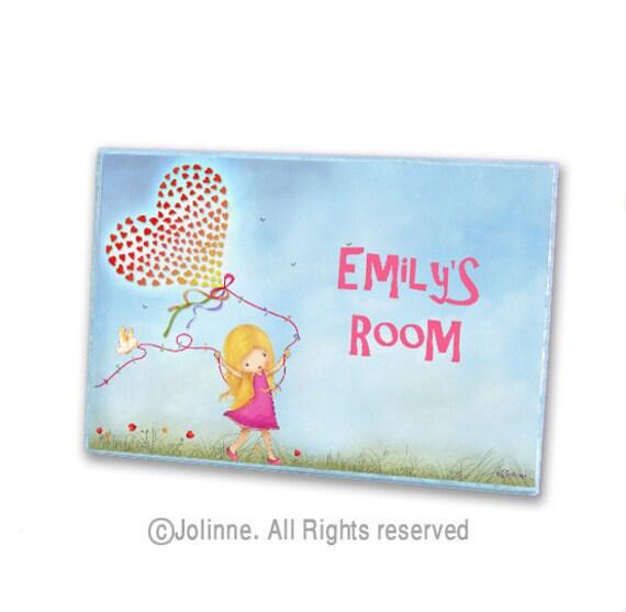 Personalized Children Door Sign Kids Room Nursery By Jolinne