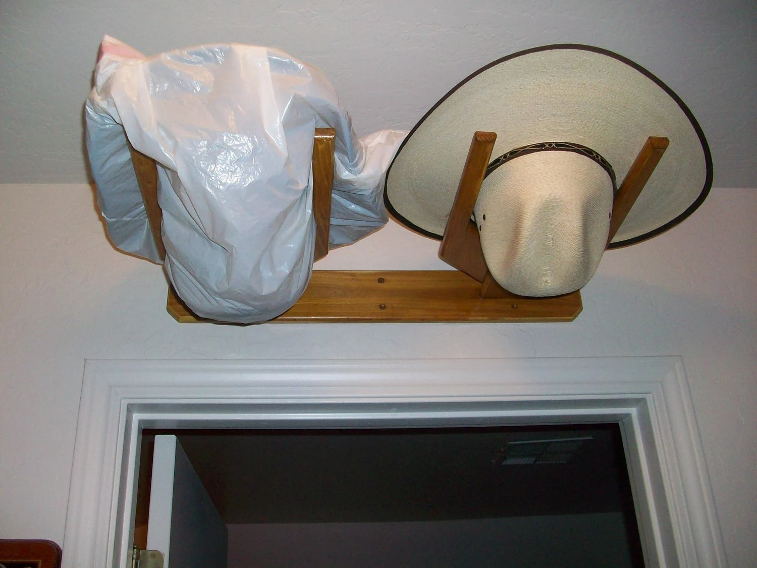 Hat Holders For Walls Cowboy Western Hat Rack 2 Hats Horizontal Fits By