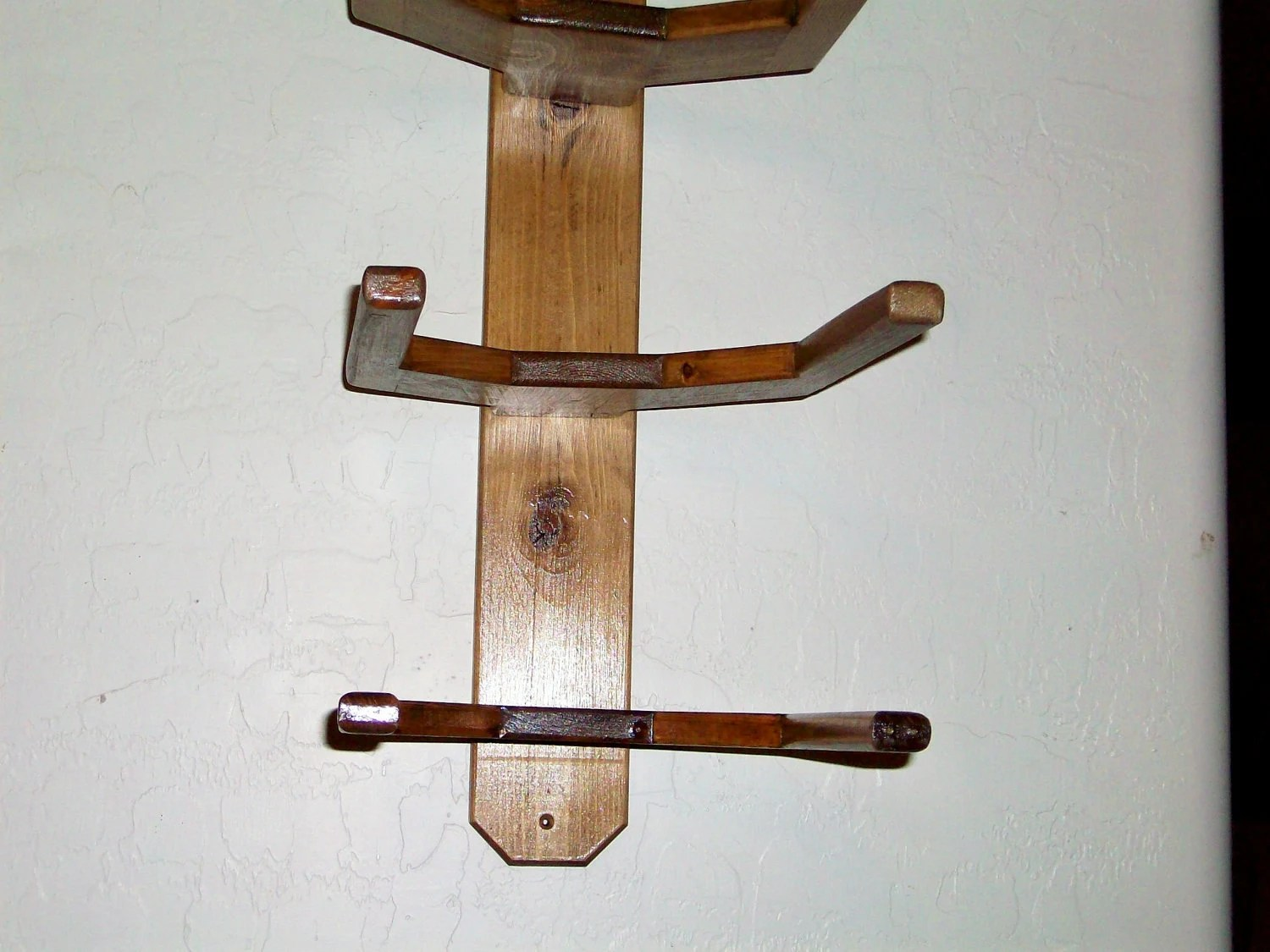 Hat Holders For Walls Cowboy Western Hat Rack Wall Mount For 3 Hats By Bormanrrranch