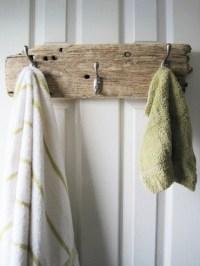 Driftwood Towel or Coat Rack