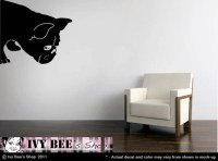 French Bulldog Sniff Vinyl Wall Decal