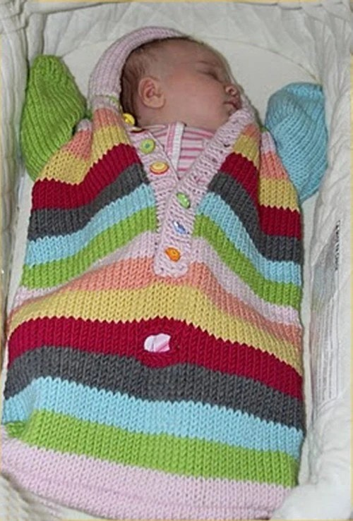 Baby Stroller Bag Knitting Pattern Baby Bunting Knitting Pattern By