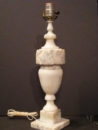 Vintage Alabaster Lamp by assemblage333 on Etsy