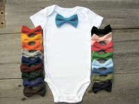 Baby Boy Clothes Baby Bow Tie Onesie Bowtie Onsie Funny