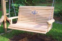 Unique Wooden Porch Swings Ideas - Home Decorating Ideas