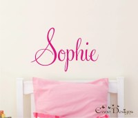 Personalized Name Custom Name Vinyl wall decal sticker