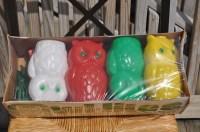 Owl String Lights Plastic Blowmold Indoor Outdoor Lanterns 7