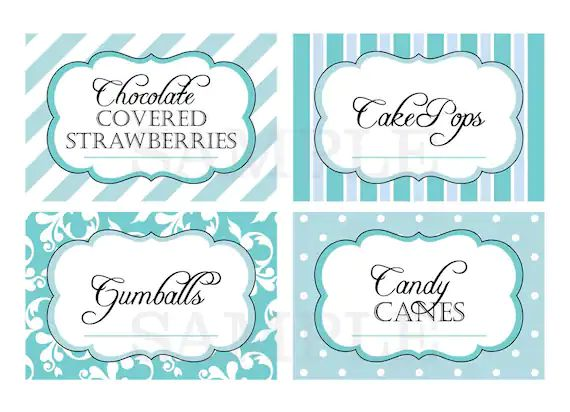 free printable candy wrapper template