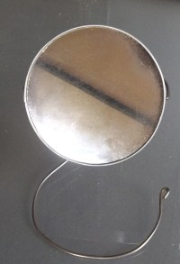 Vintage and Unique Hanging Shaving Mirror