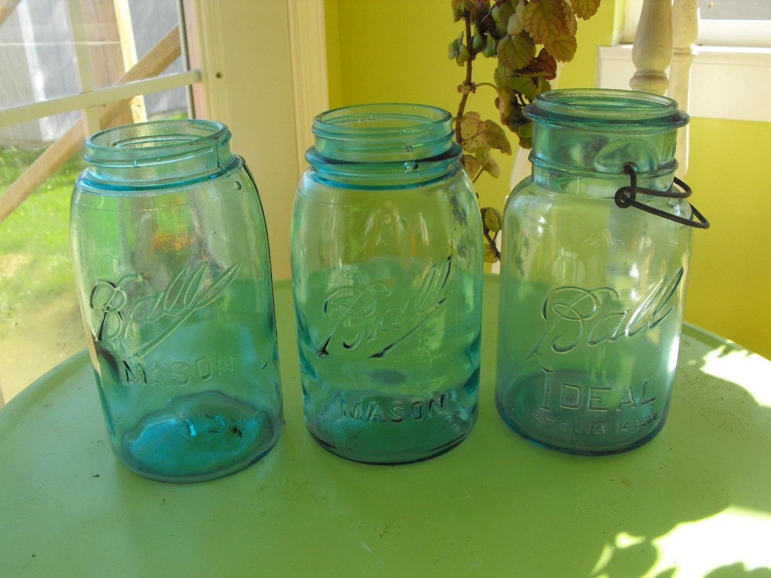Jars On Sale Sale Vintage Ball Mason Jars 3 By Peacenluv72 On Etsy