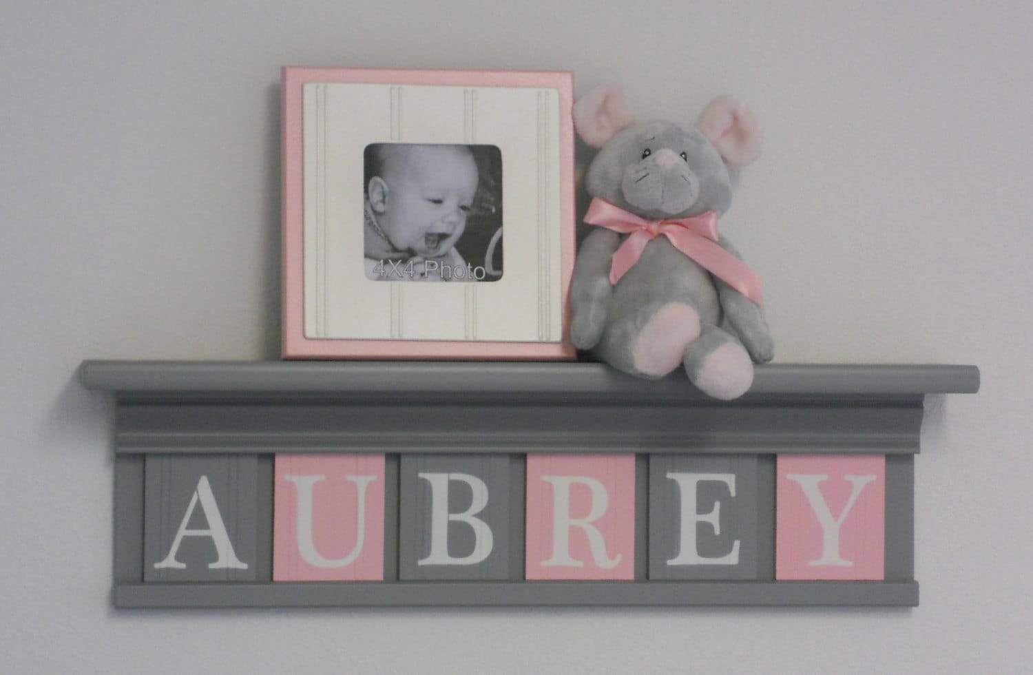 Grey And Pink Gray And Pink Pastel Light Pink Baby Girl Nursery Decor