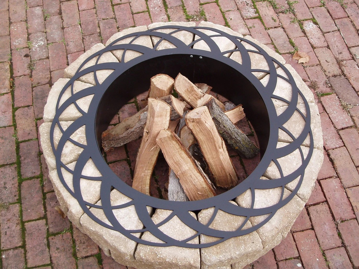 Fire Pit Basket Fire Ring