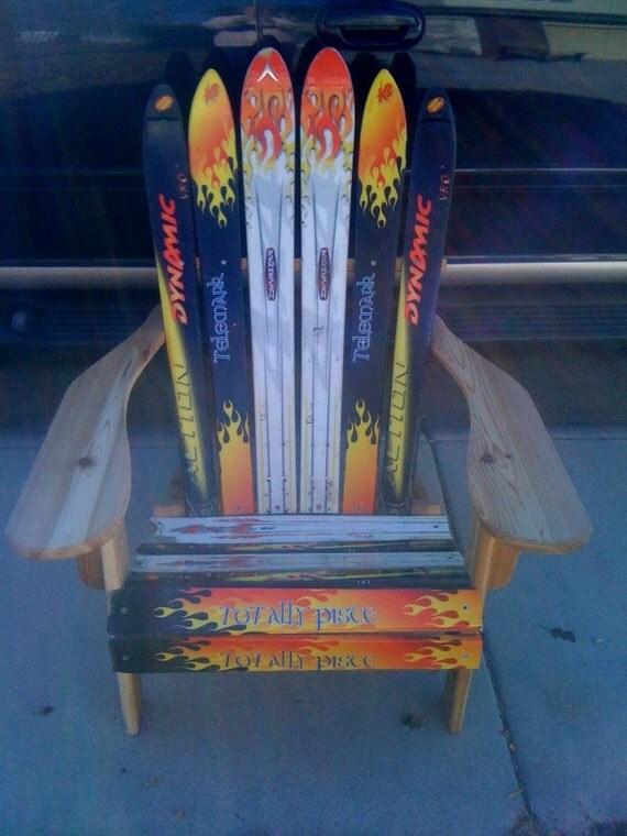 Custom Adirondack Ski Chairs By Ourwhimsicalgarden On Etsy