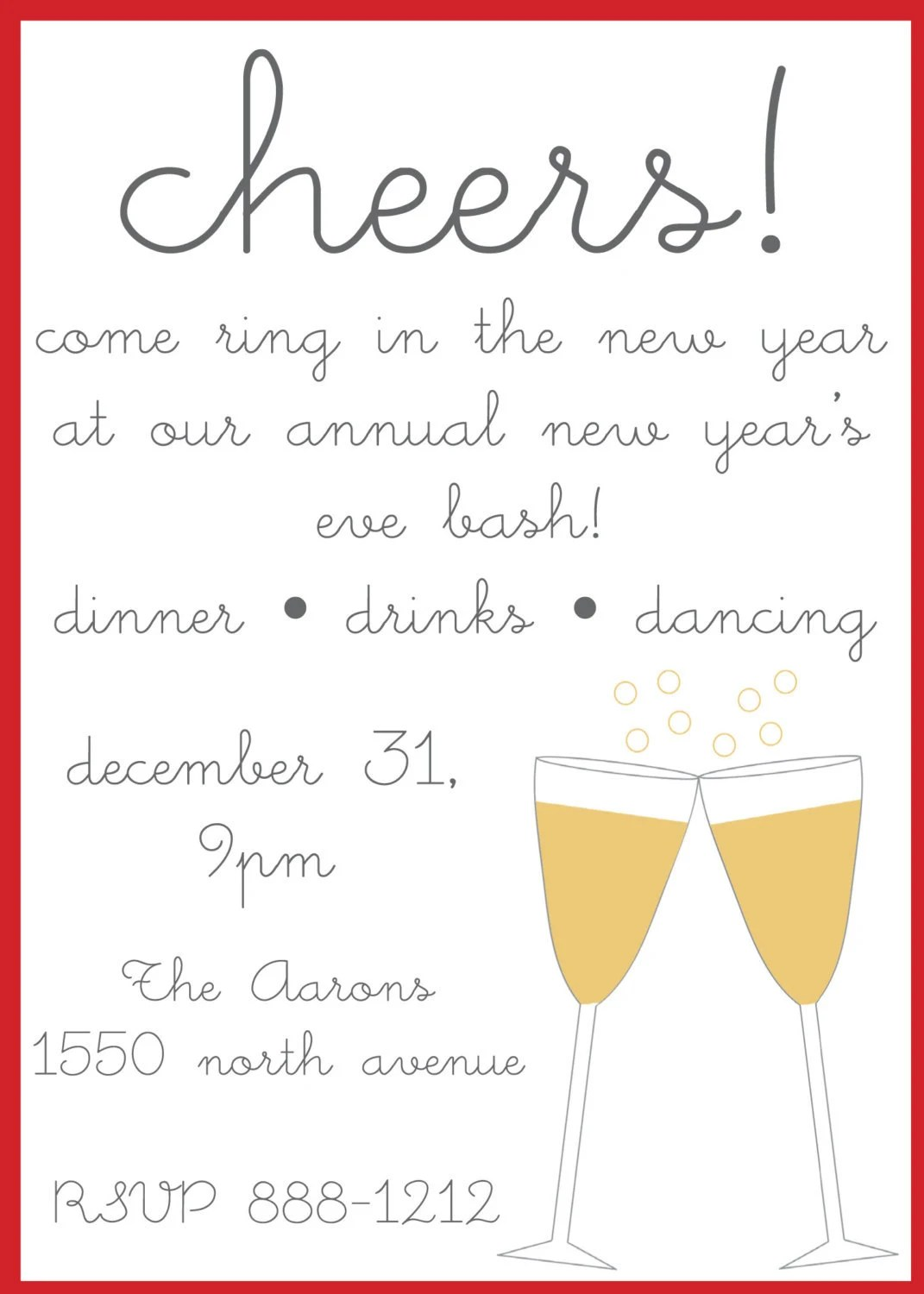 New years eve party invitation wording gallery party invitations sample invitation new year party choice image invitation sample invitation letter for new year eve party stopboris Image collections