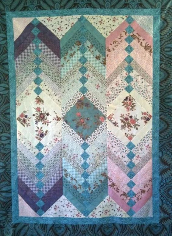 Baby Quilts Handmade Jelly Roll French Braid Quilt Pattern By Purejoypatterns