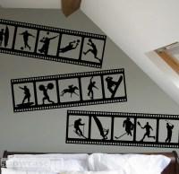 Items similar to Sports Themed Filmstrip - Vinyl Wall Art ...