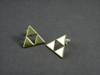 Triforce Earrings Posts