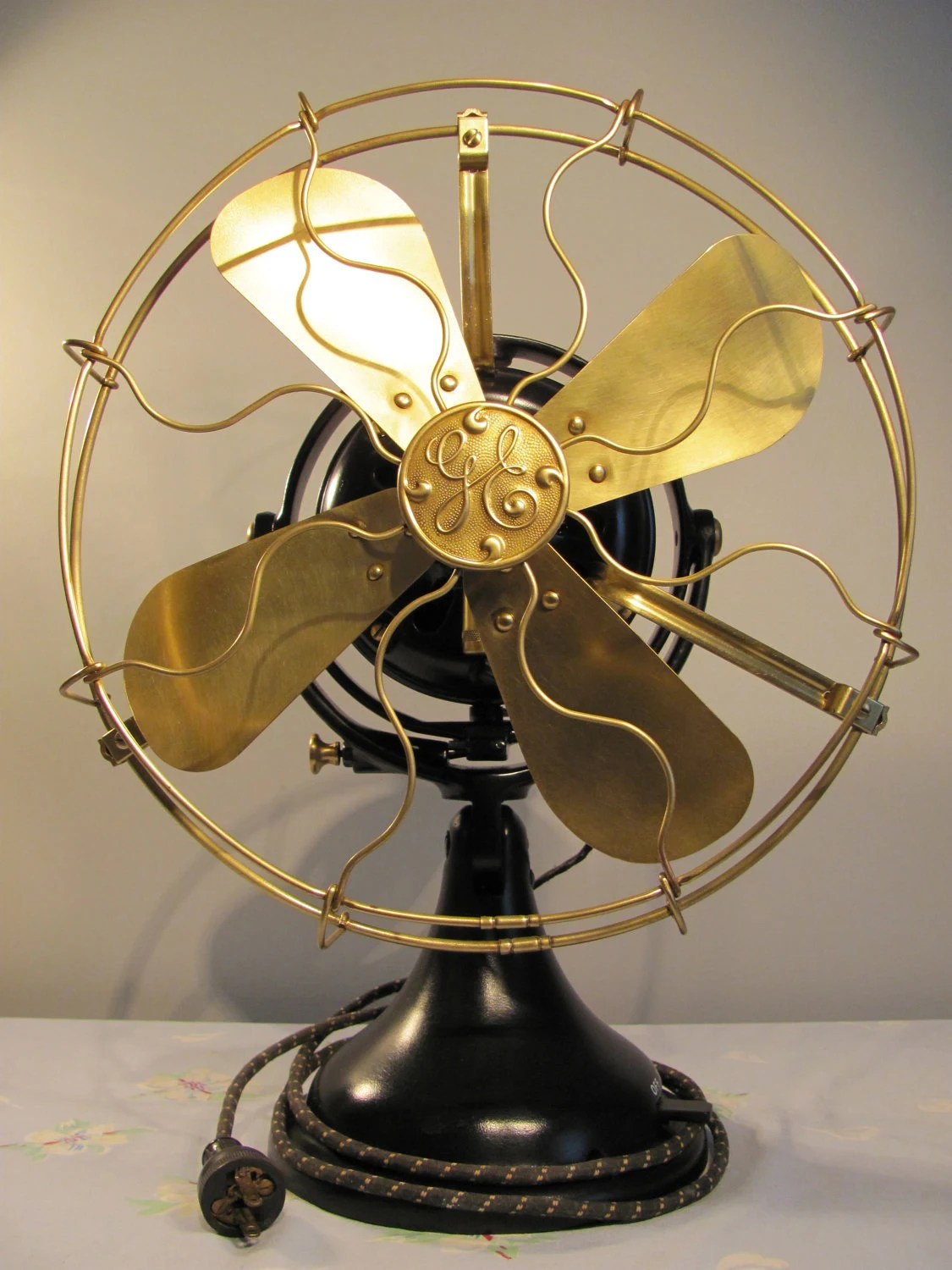 Vintage Looking Fans Reserved For Mike Rare Ge 12 Inch