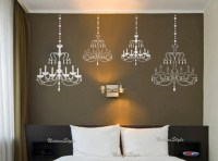 Chandelier wall decal wedding wall decal party wall decal