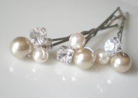 wedding hair pearl pins wedding hair pearl pins hairstyle ...