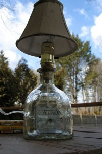 Items similar to Patron Tequila Bottle Lamp on Etsy