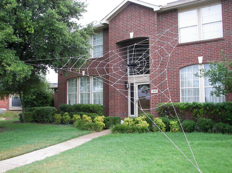 Halloween House Spider Decorations