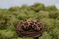Cheetah Print Stud Earrings by LaLaLandAccessories on Etsy