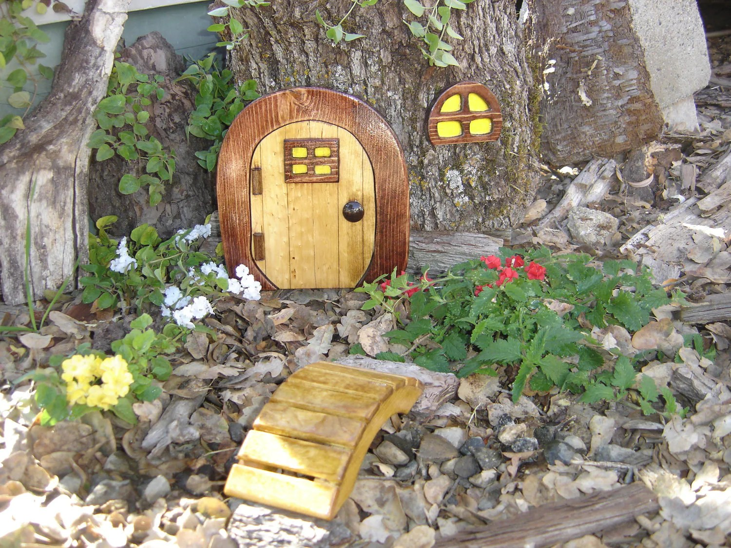 Garten Verschönern Ohne Geld Items Similar To Miniature Garden Fairy Door Gnome Door
