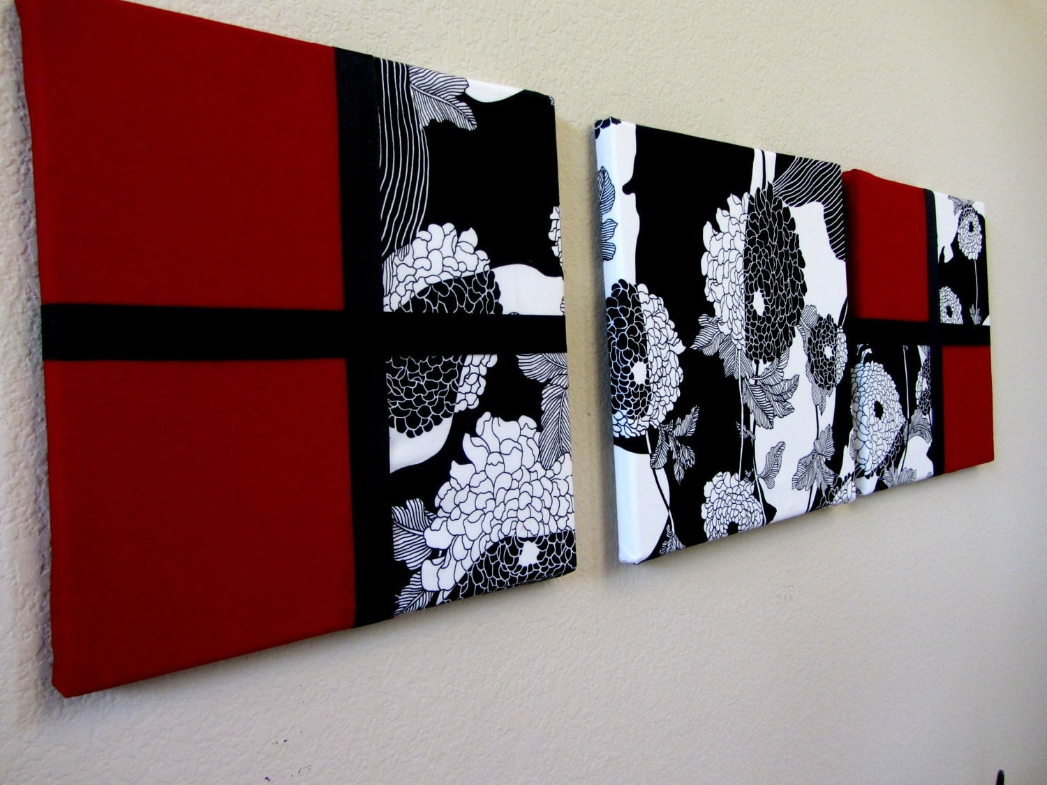 red black and white wall art 2017
