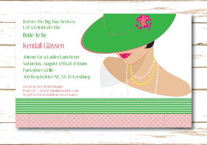 Bridal Shower Brunch Invitation Wording alesiinfo - lunch invitation templates