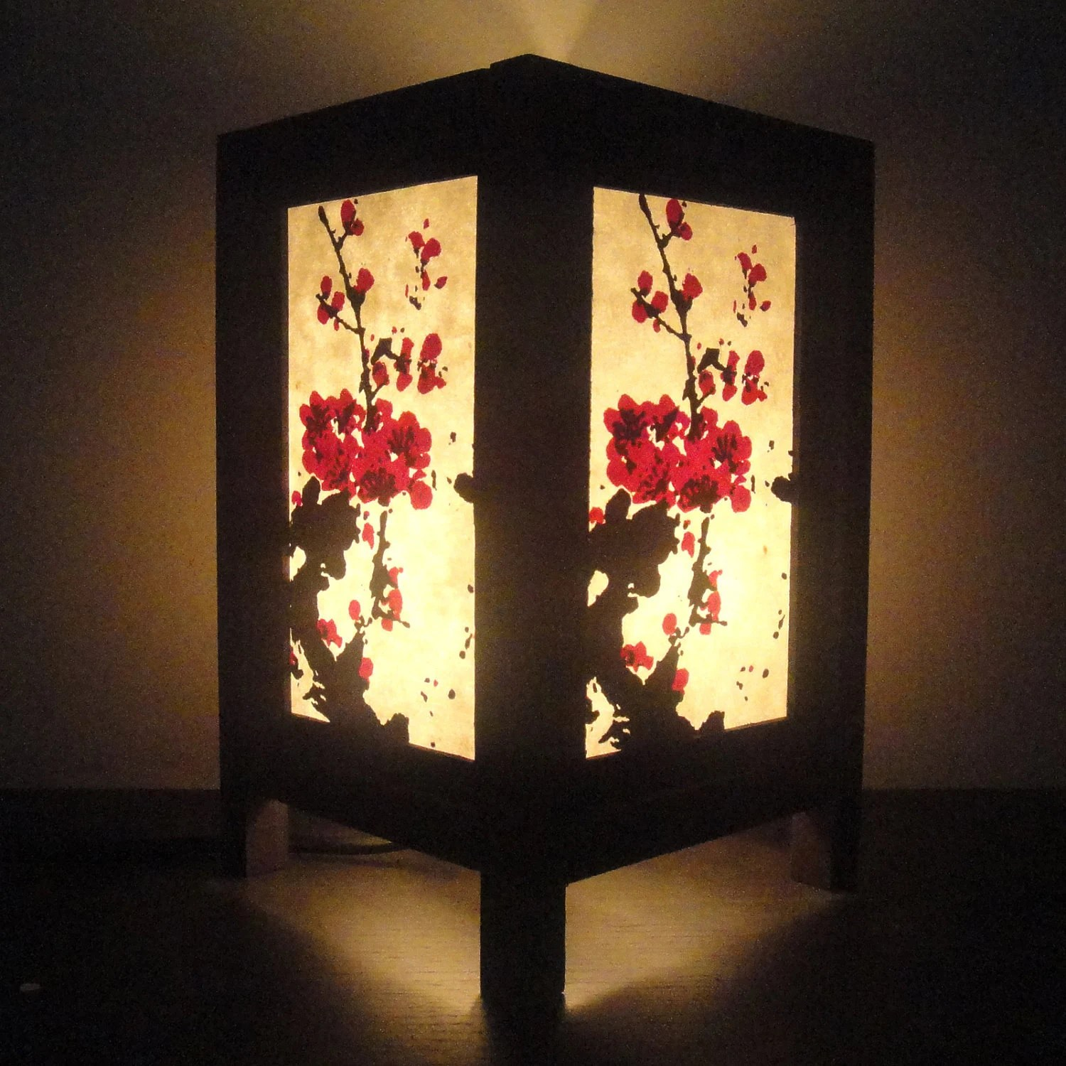 Japanische Lampenschirme Asian Oriental Japanese Sakura Cherry Blossom Tree By