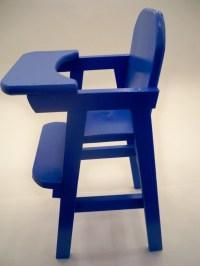 Doll High Chair Doll HighchairWood Doll High Chair Wood