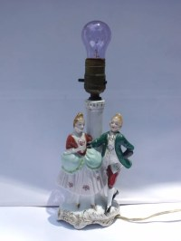 Victorian Lamp from Occupied Japan